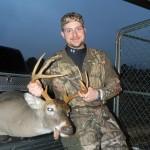 Luke Grisham's 2012 buck taken in the last gun season.