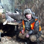 Ethan Bullock's (son of Lee Bullock) 2011 deer.  Might as well have been a Boone & Crockett as far as he was concerned! Love seeing the kids hunt!