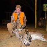 Konner Bullock got a nice doe on November 12th.