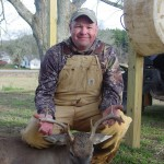 Jalon Bullock took this buck on the property over the holidays.