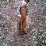 Max Bullock is our youngest hunter in DCHA.  Posing here with a squirrel his dad, Jalon, took during October.