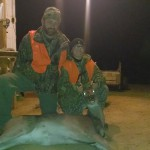 """Mikey """"Twig"""" Bedford with his very first deer!"""