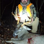 Lee Bullock took this massive nine point while still hunting near the very end of season.