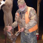 Ronnie Bullock bagged this nice six point during the second dog season.